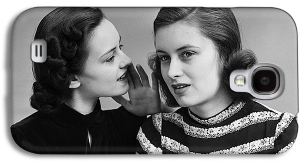 Women Whispering, C.1930-40s Galaxy S4 Case by H. Armstrong Roberts/ClassicStock
