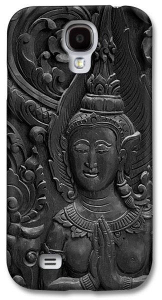 Ancient Reliefs Galaxy S4 Cases - Wood Carving. Galaxy S4 Case by Dollatum Hanrud