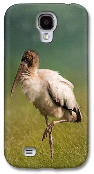 Wood Stork - Balancing Galaxy S4 Case by Kim Hojnacki