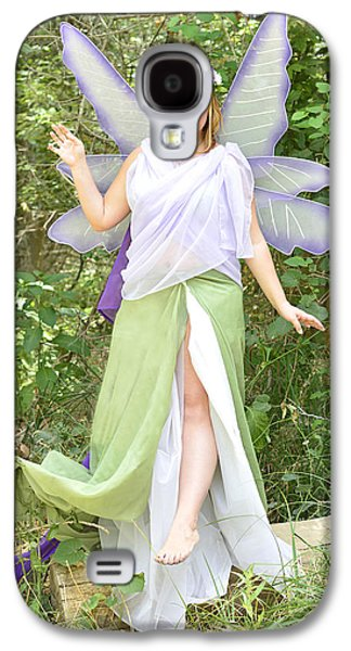 Fantasy Photographs Galaxy S4 Cases - Woodland Fairy Galaxy S4 Case by Pamela Patch