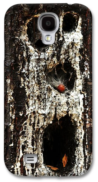 Creepy Galaxy S4 Cases - Woodland Ghoul Galaxy S4 Case by Debbie Oppermann