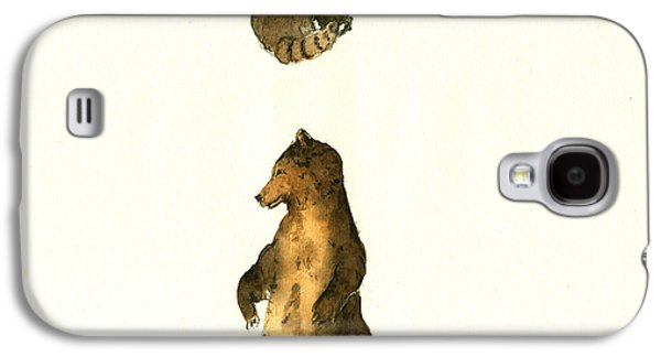 Woodland Letter I Galaxy S4 Case by Juan  Bosco