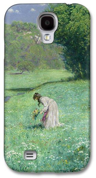Woodland Meadow Galaxy S4 Case by Hans Thoma