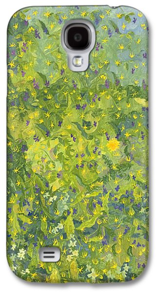 Primroses Galaxy S4 Cases - Woodland Opening Galaxy S4 Case by Leigh Glover