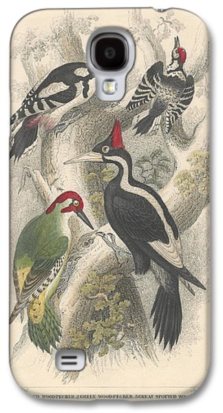 Woodpeckers Galaxy S4 Case by Oliver Goldsmith