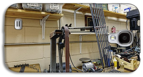 Machinery Galaxy S4 Cases - Workshop for Manufacturing Golf Clubs Galaxy S4 Case by Skip Nall