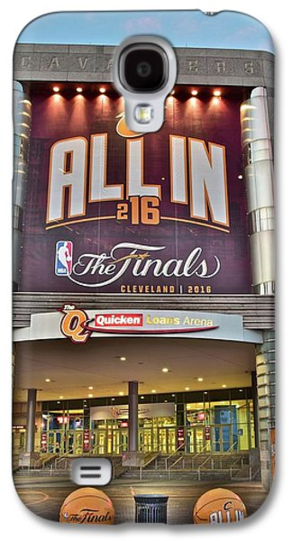 World Champion Cleveland Cavaliers Galaxy S4 Case by Frozen in Time Fine Art Photography