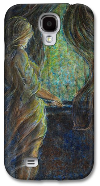 Mystic Galaxy S4 Cases - World Outside My Window Galaxy S4 Case by Nik Helbig