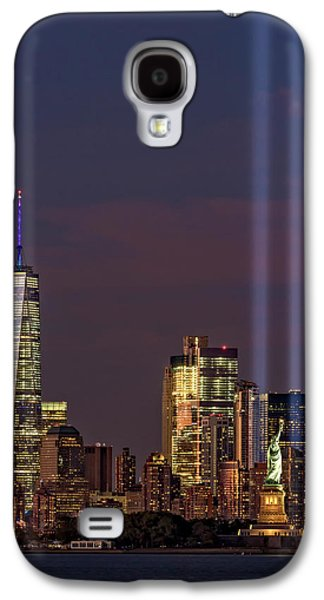 World Trade Center Wtc Tribute In Light Memorial II Galaxy S4 Case by Susan Candelario