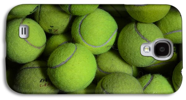 French Open Galaxy S4 Cases - Worn Out Tennis Balls Galaxy S4 Case by Paul Ward