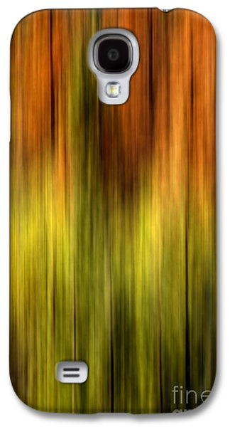 Vibrant Colors Digital Galaxy S4 Cases - Wrapped Galaxy S4 Case by Az Jackson