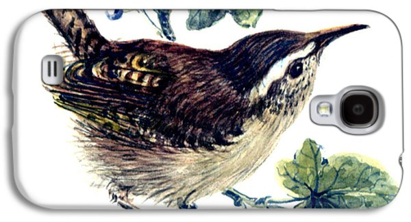 Wren In The Ivy Galaxy S4 Case by Nell Hill