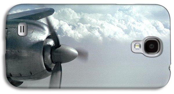 Wright R-3350 Radial Engine, Lockheed Constelation Galaxy S4 Case by Wernher Krutein