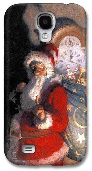 Christmas Cards - Galaxy S4 Cases - Wyeth: Old Kris (kringle) Galaxy S4 Case by Granger
