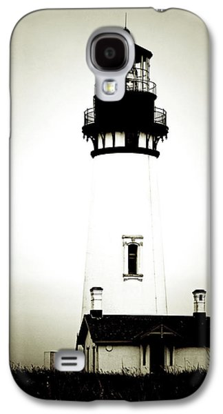 Ghastly Galaxy S4 Cases - Yaquina Head Light - Haunted Oregon Lighthouse Galaxy S4 Case by Christine Till