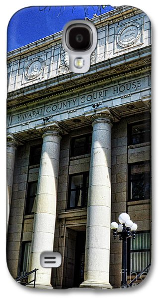 Prescott Photographs Galaxy S4 Cases - Yavapapi County Court House - Prescott  Galaxy S4 Case by Saija  Lehtonen