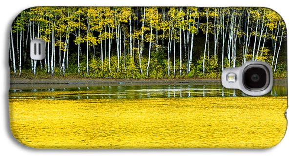 Waterscape Galaxy S4 Cases - Yellow Galaxy S4 Case by Chad Dutson
