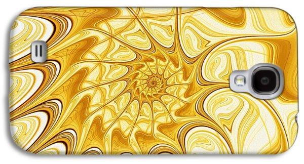 Galaxy S4 Cases - Yellow Shell Galaxy S4 Case by Anastasiya Malakhova