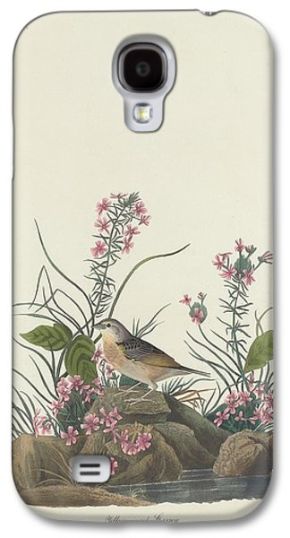 Sparrow Galaxy S4 Cases - Yellow-Winged Sparrow Galaxy S4 Case by John James Audubon