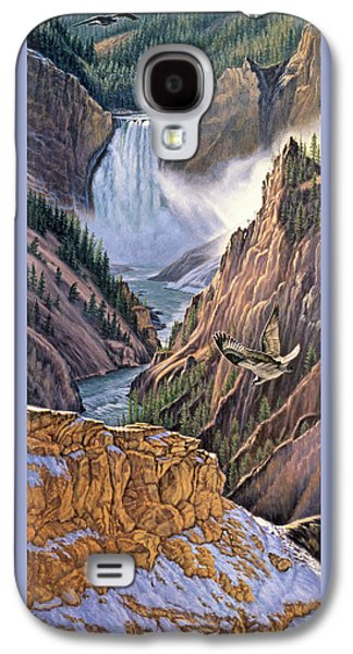 Yellowstone Canyon-osprey Galaxy S4 Case by Paul Krapf