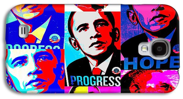 Obama Galaxy S4 Cases - Yes We Can  Galaxy S4 Case by Funkpix Photo Hunter