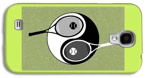 Yin Yang Tennis Galaxy S4 Case by Carlos Vieira