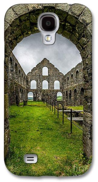 Dilapidated Digital Galaxy S4 Cases - Ynysypandy Slate Mill Galaxy S4 Case by Adrian Evans