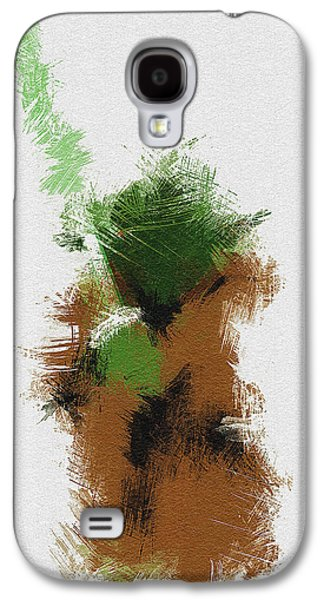 Character Portraits Galaxy S4 Cases - Yoda Galaxy S4 Case by Miranda Sether