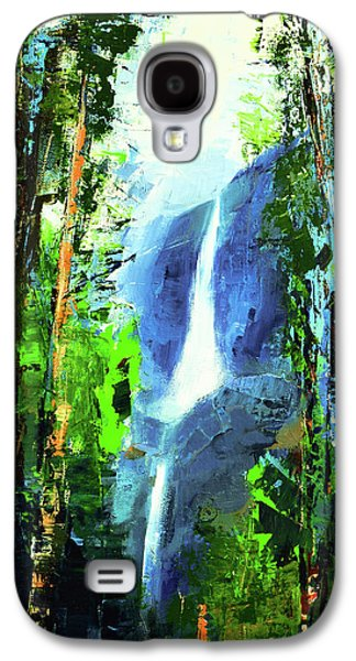 Californian Galaxy S4 Cases - Yosemite Falls Galaxy S4 Case by Elise Palmigiani