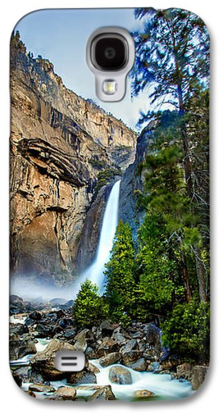 Early Spring Galaxy S4 Cases - Yosemite Waterfall Galaxy S4 Case by Az Jackson