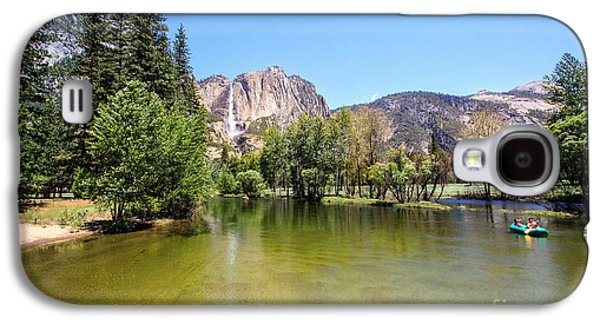 Coasting Galaxy S4 Cases - Yosemite wide view Galaxy S4 Case by Ava Peterson