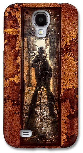 Self Photographs Galaxy S4 Cases - You Shot a Hole in My Soul Galaxy S4 Case by Evelina Kremsdorf