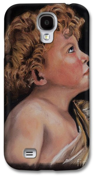 Bible Pastels Galaxy S4 Cases - Young John the Baptist  Galaxy S4 Case by Peter Flint