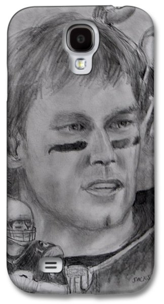 Jack Skinner Drawings Galaxy S4 Cases - Young Tom Galaxy S4 Case by Jack Skinner