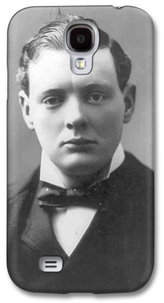 Young Winston Churchill Galaxy S4 Case by War Is Hell Store