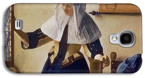 Young Woman With A Water Jug Galaxy S4 Case by Jan Vermeer