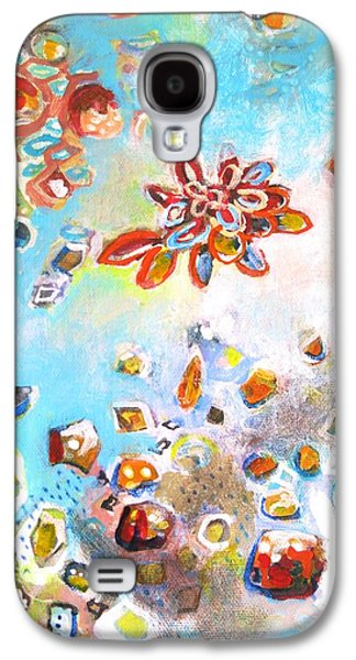 Cosmology Paintings Galaxy S4 Cases - Your light shines brightly Galaxy S4 Case by Scott Richard
