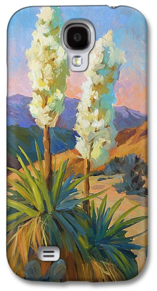 Country Scenes Galaxy S4 Cases - Yuccas Galaxy S4 Case by Diane McClary