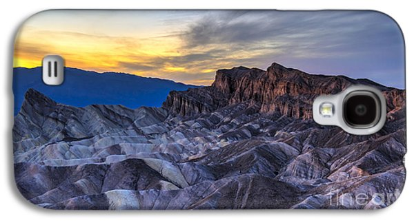 Zabriskie Point Sunset Galaxy S4 Case by Charles Dobbs