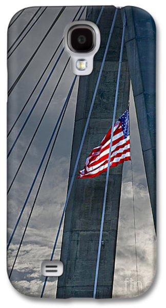 Zakim Bridge Boston Galaxy S4 Case by Elena Elisseeva