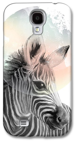 Zebra // Dreaming Galaxy S4 Case by Amy Hamilton