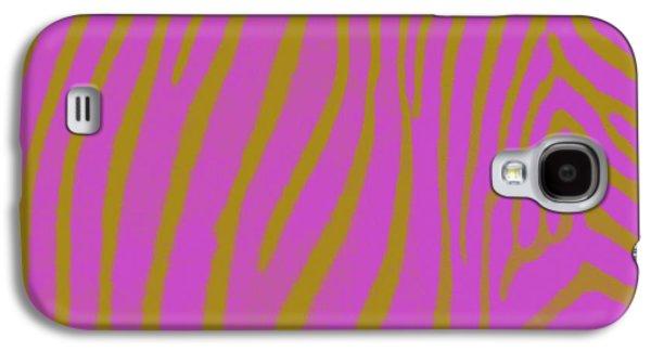Fushia Galaxy S4 Cases - Zebra Shmebra Galaxy S4 Case by Michelle Calkins