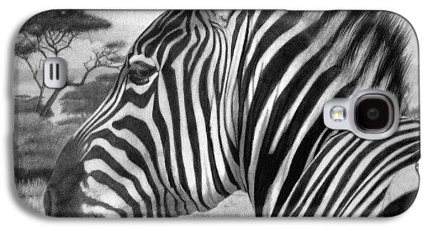 Zebra Galaxy S4 Case by Tim Dangaran