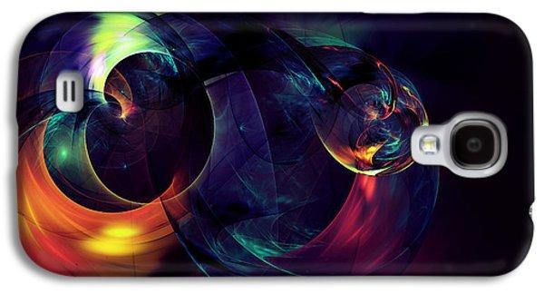 Abstracts Galaxy S4 Cases - Zen Knot Galaxy S4 Case by Georgiana Romanovna