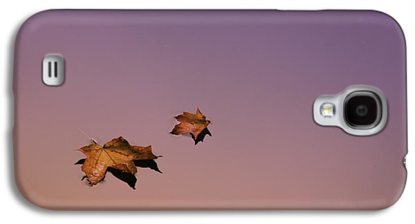 Nature Abstracts Galaxy S4 Cases - Zen Leaves Galaxy S4 Case by Thomas Schoeller