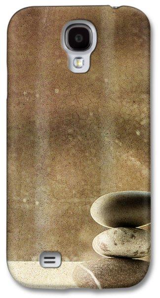 Pebbles Galaxy S4 Cases - Zen Galaxy S4 Case by Rebecca Cozart