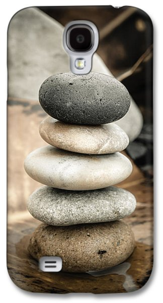 Zen Stones Iv Galaxy S4 Case by Marco Oliveira
