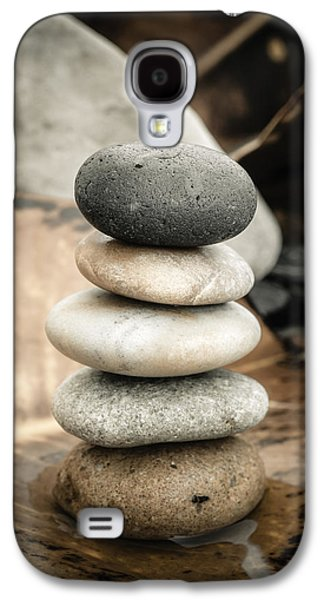 Mystic Setting Galaxy S4 Cases - Zen Stones IV Galaxy S4 Case by Marco Oliveira