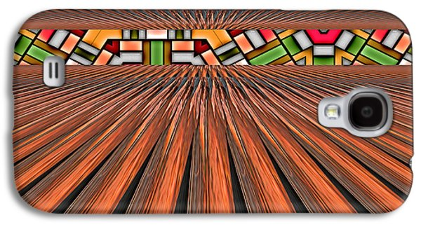 Photo Manipulation Galaxy S4 Cases - Zoned Galaxy S4 Case by Wendy J St Christopher