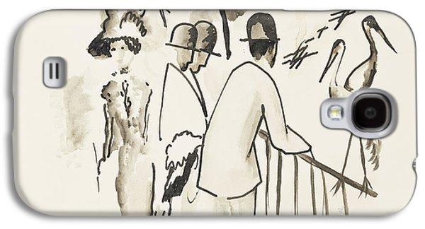 Zoological Garden II Galaxy S4 Case by August Macke